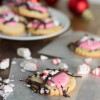 White Chocolate Peppermint Butter Cookies