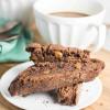 Chocolate Caramel Biscotti