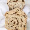 Sourdough Cinnamon Raisin Swirl Bread