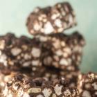 Chocolate Marshmallow Pretzel No-Bake Bars