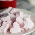 Raspberry Marshmallow Hearts