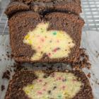 Chocolate Funfetti Hidden Bunny Cake