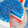 Fourth of July Cheesecake Cake