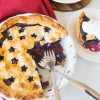 Star-Spangled Blueberry Pie