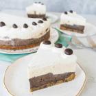 Easy Peanut Butter Mocha Ice Cream Cake