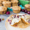Cherry Cobbler Muffins