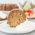 Fresh Apple Bundt Cake with Caramel Glaze