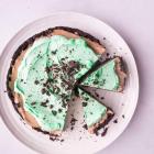 No-Bake Mint Mocha Cheesecake