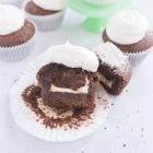 Mint Chocolate Brownie Cupcakes