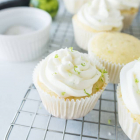 Margarita Cupcakes with Tequila Cointreau Frosting