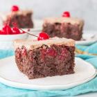 Easy Chocolate Cherry Cake