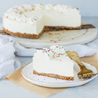 No-Bake Eggnog Cheesecake