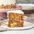 Easy Carrot Pineapple Cake