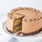 Banana Nutella Cake
