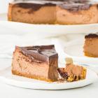Chocolate Amaretto Cheesecake