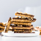 Graham Cracker Toffee (Easy!)