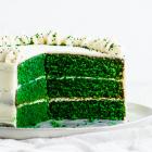 Green Velvet Cake
