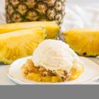 Pineapple Cobbler