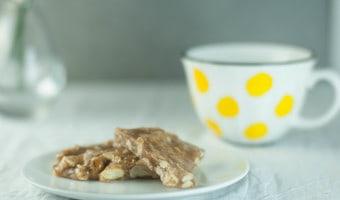 Chai-Spiced Coconut Cashew Brittle