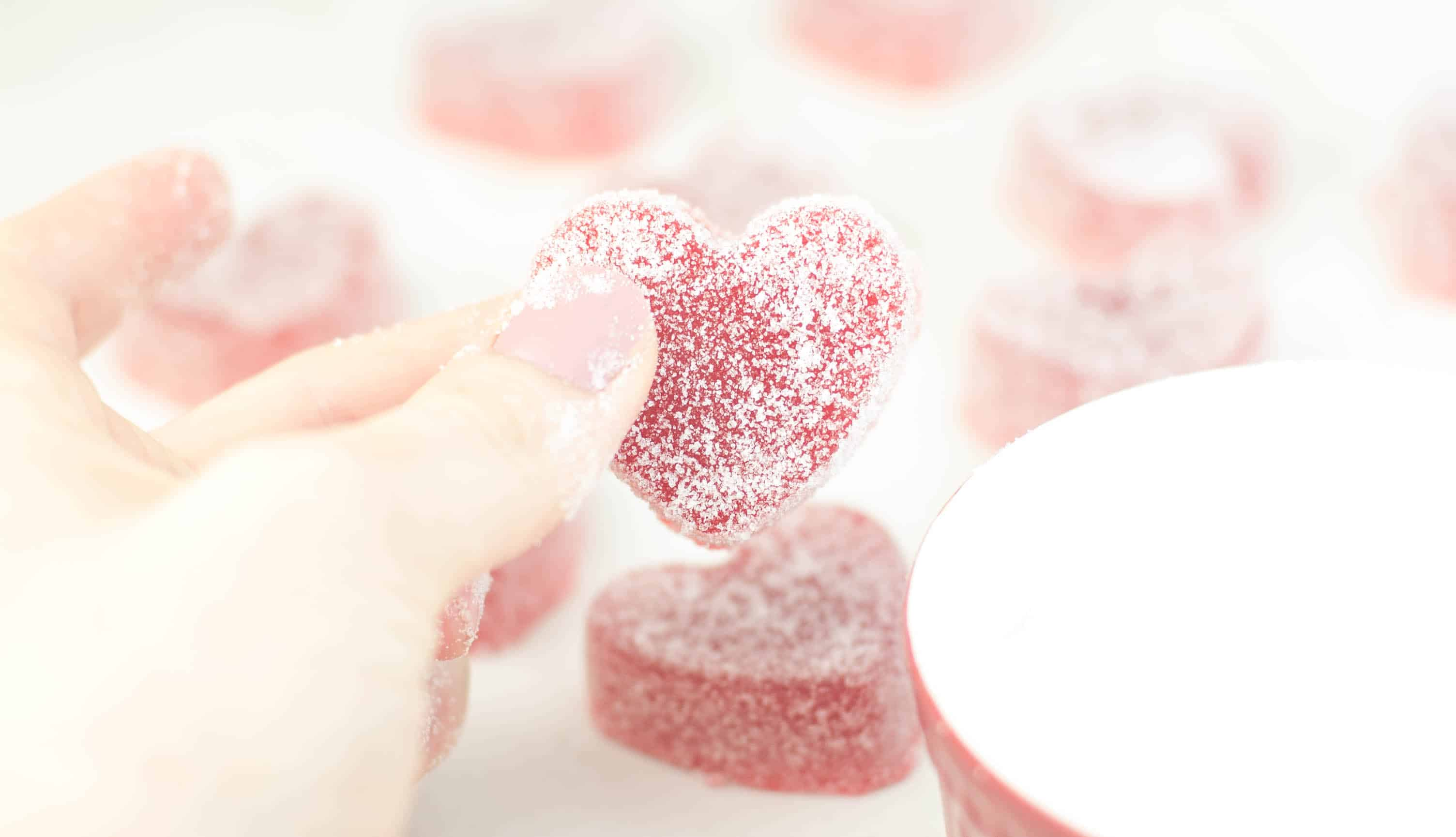 Gummy Candy Hearts