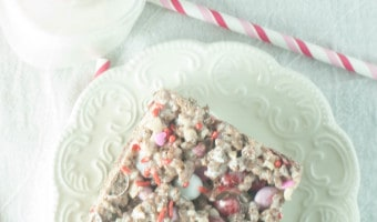 Outrageous Cocoa Krispie Treats with M&Ms®