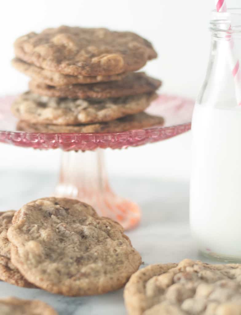 A cookie that combines the delicious flavors of hazelnut and chocolate is a cookie everybody needs!
