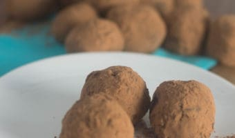 Chai-Spiced Vegan Chocolate Truffles