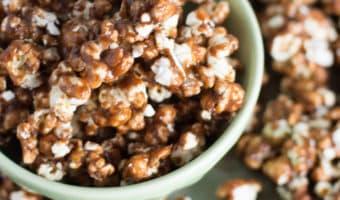 Nutella Caramel Corn