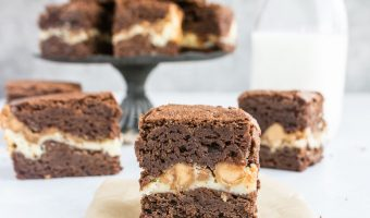 Peanut Butter Cream Cheese Brownies