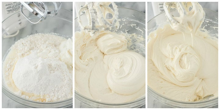 how to make white chocolate cake layers