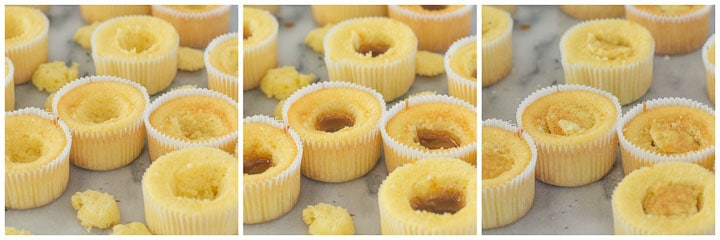 how to fill caramel cupcakes step by step photo gallery