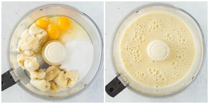 how to make banana curd for chocolate banana cupcakes step by step