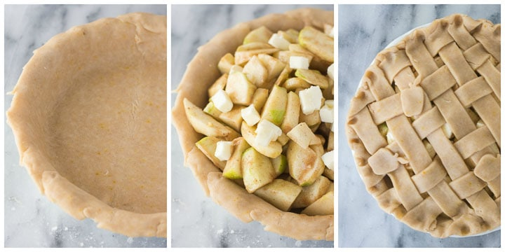 making cinnamon apple pie filling steps 4 through 6