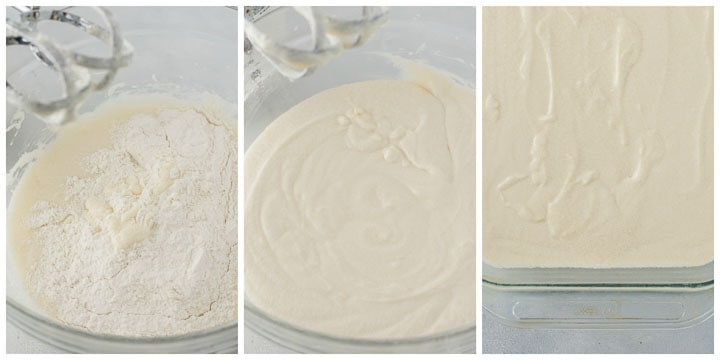 how to make danube waves cake (donauwellen kuchen) steps three through six