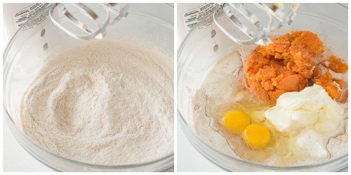 how to make sweet potato cake steps 1 and 2
