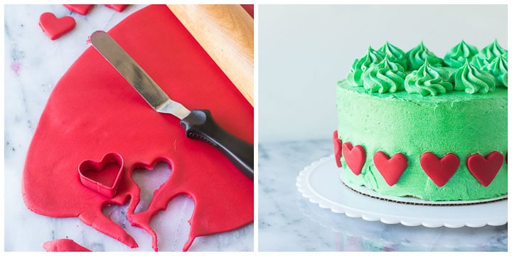 how to decorate grinch cake step by step