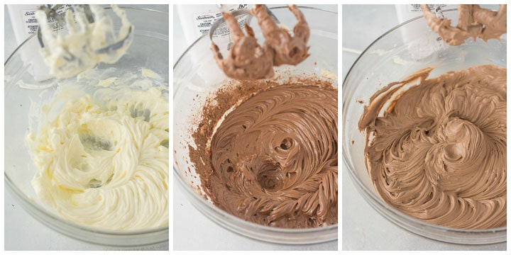 how to make chocolate buttercream step by step