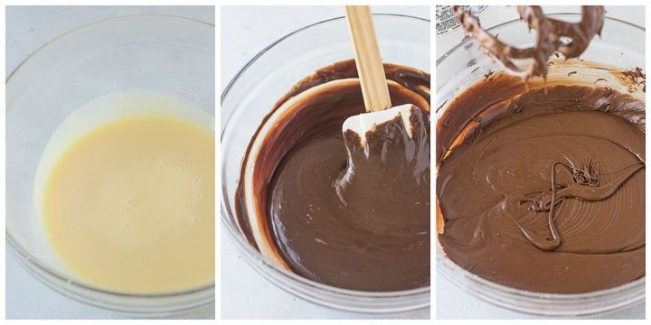 how to make chocolate fudge frosting step by step