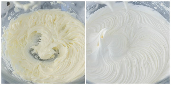 how to make white chocolate buttercream steps 1 and 2