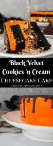 pin image for black velvet cake