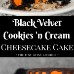 pin image for black velvet cake