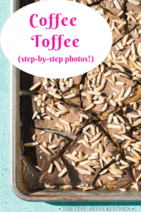 pin image for homemade coffee toffee