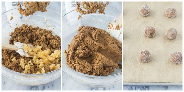 how to make molasses ginger cookies