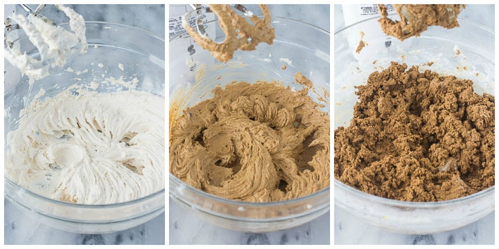 molasses ginger cookies step by step