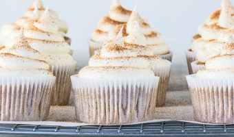 One Bowl Snickerdoodle Cupcakes