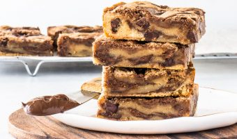Easy Nutella Bars