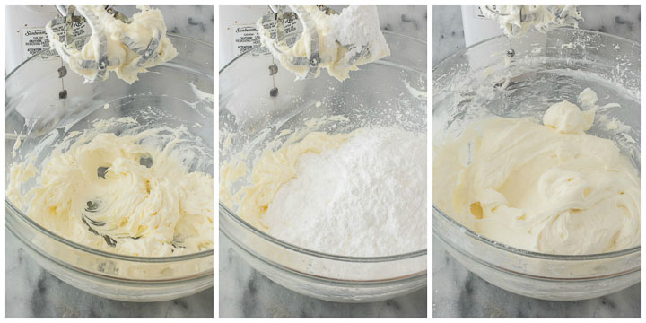 how to make cream cheese frosting step by step