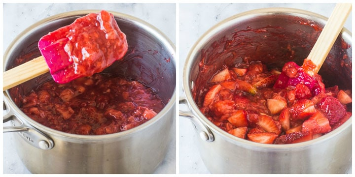 how to make fresh strawberry pie filling