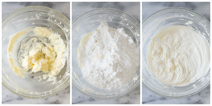 how to make vanilla frosting step by step