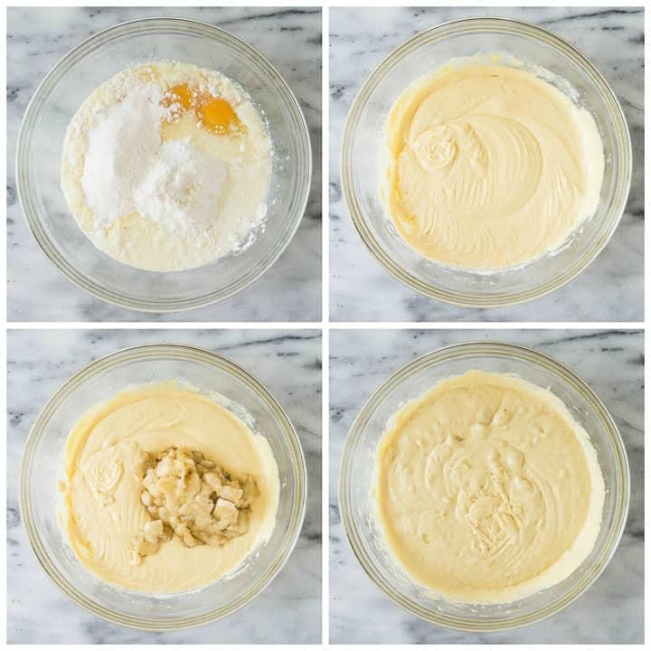 how to make easy banana cake step by step